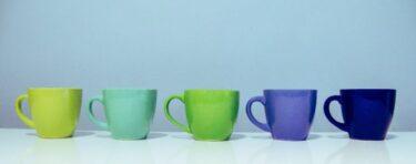 コーヒーカップの色で味が変わる!?コーヒーが一番美味しくなる色を徹底解説